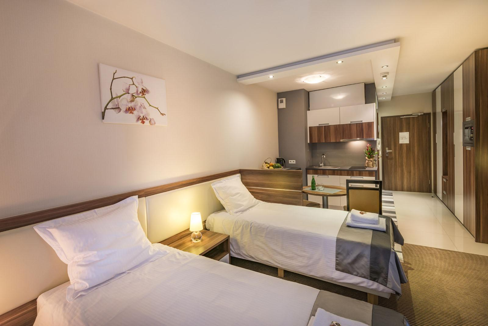 Apartamenty Classic sypialnia