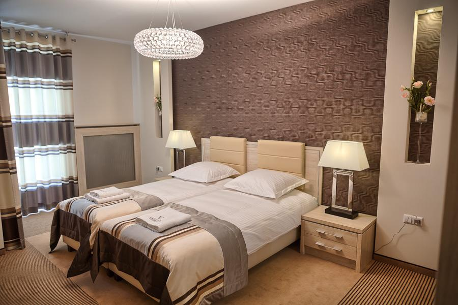 Apartament Modern sypialnia