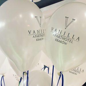 balony z logo firmy