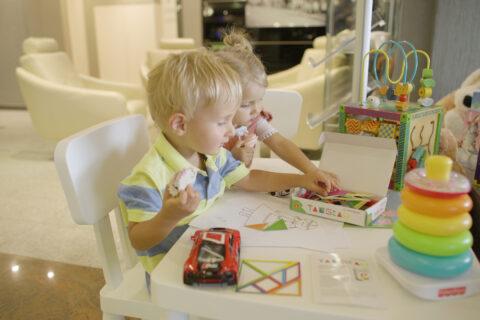 kącik zabaw dla dzieci