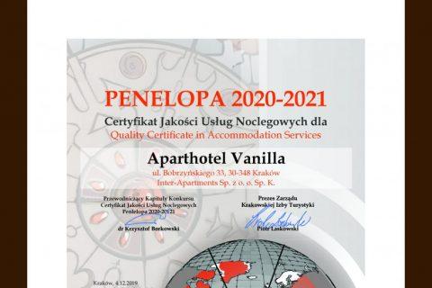 Aparthotel Vanilla Penelopa 2020